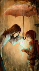 Rainbow of Love by darkmello