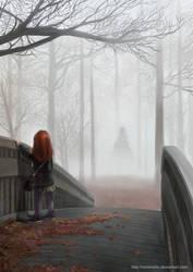 Something in the Mist by darkmello