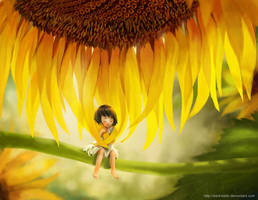 Sunflower child by darkmello