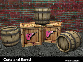 Barrel and Crate - Spring 2008 by ThankYouComeAgain