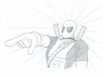 KnuxfanEO - Deadpool by ThankYouComeAgain