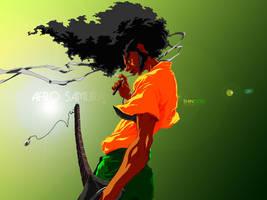 Afro Samurai by shingou