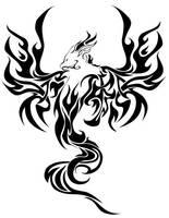 Phoenix Tattoo by Totalrandomness