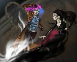 Auror battle by Totalrandomness