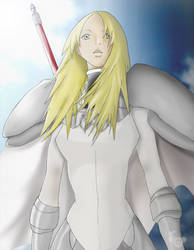 Claymore -  Miria by me by SaberM