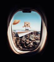 Paper Plane Flight by KhaledReese
