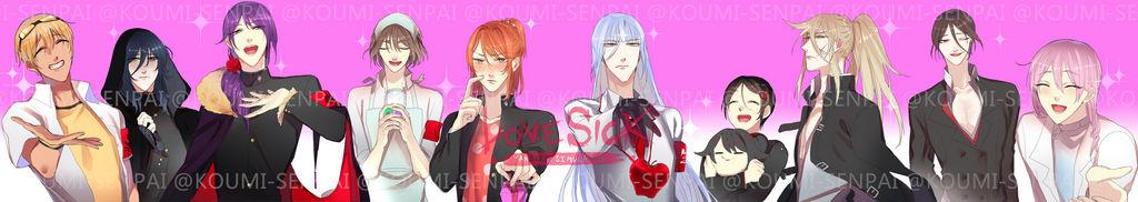 Male rivals by Koumi-senpai