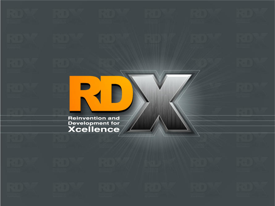 RDX Logo by pulsetemple