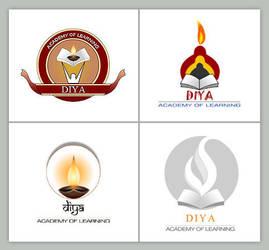Diya Logo by pulsetemple
