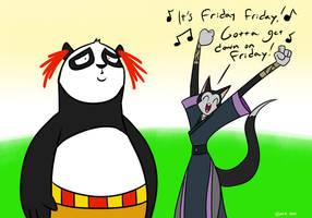 Kung Fu Friday by MysteryFanBoy718