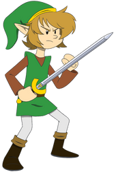 A Taller Link from Awakening by MysteryFanBoy718