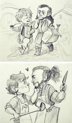 Thilbo sketch by Lis-Alis