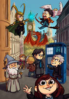 British family by Lis-Alis
