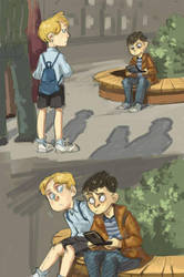 kids Tyrrell and Elliot by Lis-Alis