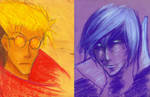 Trigun // Life and Death by adrawer4ever