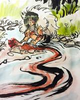 Princess Mononoke by adrawer4ever