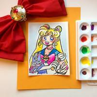 Sailor Moon // Usagi by adrawer4ever