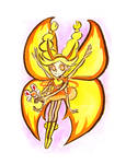 Star Vs. Forces of Evil // Butterfly Form by adrawer4ever