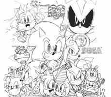 Sonic Heroes Artwork by BlueTyphoon17