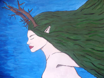 Dryad Painting by Artisticat86
