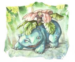 Venasaur by DestroyedSteak