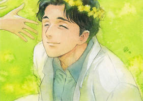 Flower crown for doctor Tenma by chernotrav