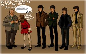 Beatles meet Veruca by TitanicGal1912
