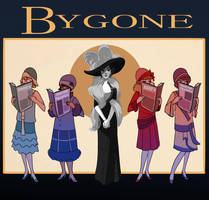 Bygone Poster by TitanicGal1912