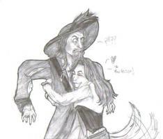 Barbossa Hug by TitanicGal1912