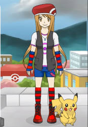My Custom Pokemon Trainer by ThatBigInkling