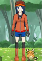 My Custom Pokemon Trainer (alt) by ThatBigInkling