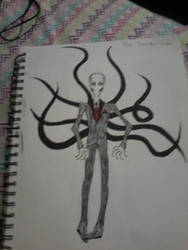 The Slenderman by creepypastaproxy2003