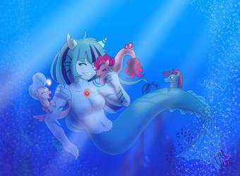 Blue da bi du dai by FallenAngel5414