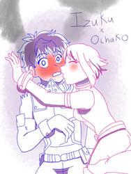 SHIPS: Izuku x Ochako by FallenAngel5414