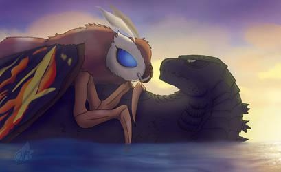 Legendary cute couple by FallenAngel5414