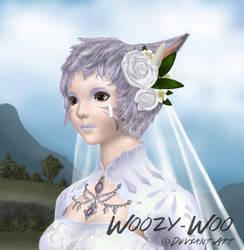 AA Digital Art Portrait - FFXIV, by Woozy-Woo by Woozy-Woo