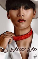 VIXX's N, Cha Hakyeon by Woozy-Woo