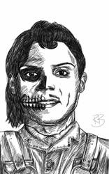 The many faces of Evan Peters by ravenmorghane