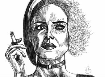Many faces of Sarah Paulson by ravenmorghane