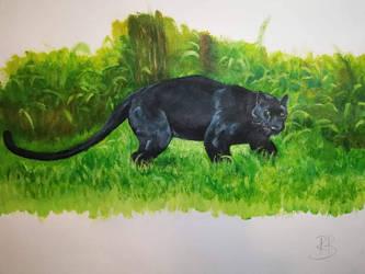 Black Cat  by ravenmorghane
