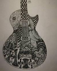 Zentangles by ravenmorghane