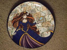 Princess Plate by DanikaMorningStar