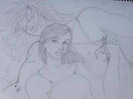 Jareth and Sarah by DanikaMorningStar