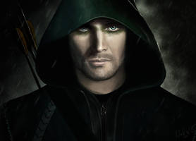 Arrow - Stephen Amell by NadjaReyam
