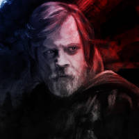 Luke Skywalker, colour by NadjaReyam