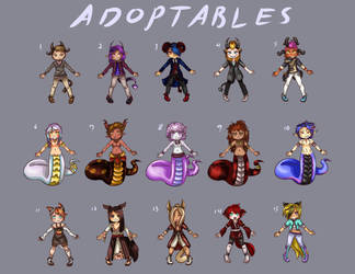 ADOPTABLES Fantasy Mix Sept-October 2017 ((OPEN!)) by Ethelbutt
