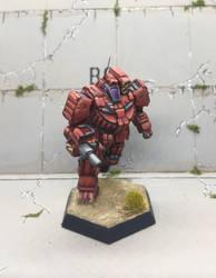 Wolverine- BattleTech  by AGeiger42