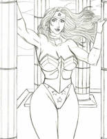 Wonder Woman sketch by Hentai-Ryukami