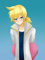 Len Kagamine - Valentine's day by LadyGalatee