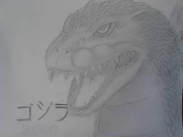 GOJIRA (Godzilla) 2000!! by NARUFRO93
